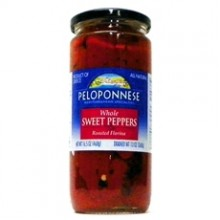 Peloponnese Roasted Florina Whole Peppers (6x13Oz)