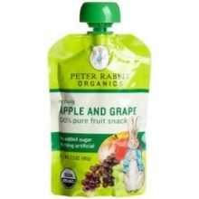 Peter Rabbit Organics Fruit SqueezeApple And Grape (10x4Oz)