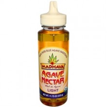 Madhava Agave Nectar Light (6x23.5Oz)