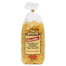 Bechtle Traditional German Egg Noodles Broad Noodles (12x17.6Oz)