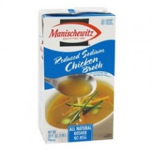Manischewitz Low Sodium Chicken Broth (12x14 Oz)