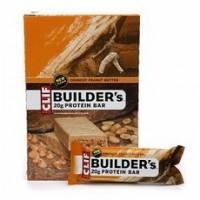 Clif Bar Builder's Bar Crunchy Peanut Butter (12x2.4Oz)