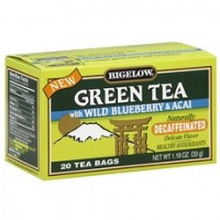 Bigelow Green Tea with Blueberry and Acai(6x20 Bag)