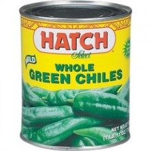 Hatch Mild Whole Green Chiles (12x4Oz)