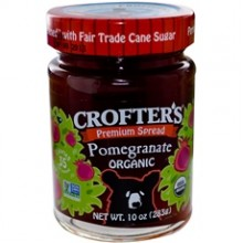 Crofters Organic Fruit Spread Pomegranate (6x10Oz)