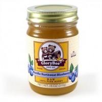 Glorybee Raw Northwest Blueberry Honey (6x18Oz)