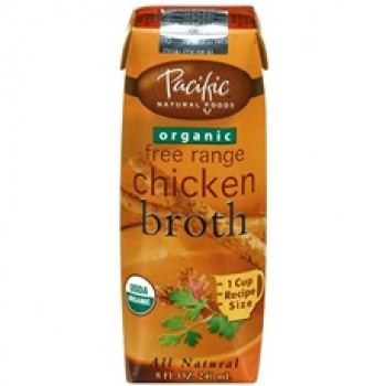 Pacific Natural Foods Organic Chicken Broth (6x4 Pack)