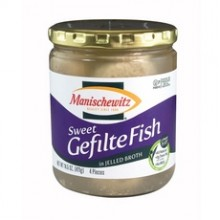 Manischewitz Sweet Gefilte Fish In Jelled Broth (12x14.5Oz)