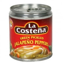 La Costena Jalapeno Peppers  (12x12Oz)