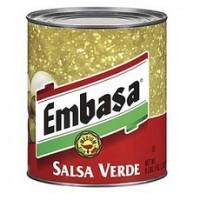 Embasa Salsa MexicanaGreen Medium (12x7Oz)