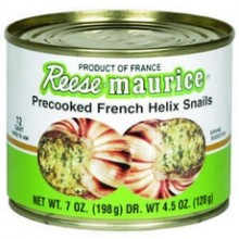 Maurice Precooked French Helix Snails (6x7Oz)