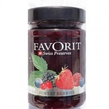 Favorit Swiss Forest Berries Preserves (6x12.3Oz)