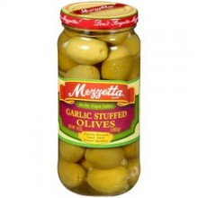 Mezzetta Olive, Stuffed Garlic (6x10Oz)