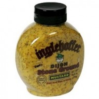 Inglehoffer Dijon Stone Ground Mustard With Red Wine & Herb (6x10.25Oz)