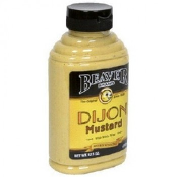 Beaver Dijon Mustard With White Wine (6x12.5Oz)