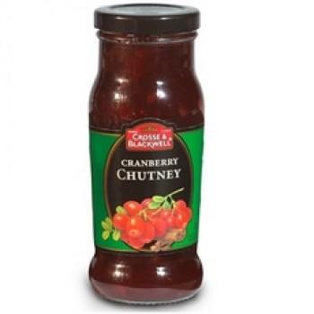 Crosse & Blackwell ChutneyCranberry (6x8.5Oz)