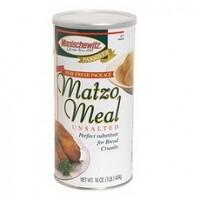 Manischewitz Matzo Meal Unsalted  (12x12/16 Oz)