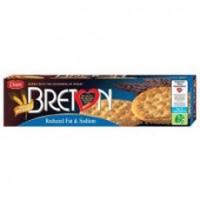 Breton Reduced Fat & Sodium Crackers (12x8 Oz)