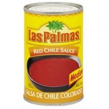 Las Palmas Medium Red Chili Sauce (24x10Oz)