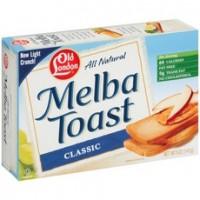 Old London White MeLba Toast (12x5Oz)