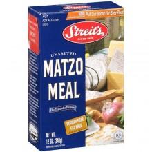 Streits Unsalted Matzo (12x11 Oz)