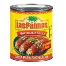 Las Palmas Hot Enchilada Sauce (24x10Oz)