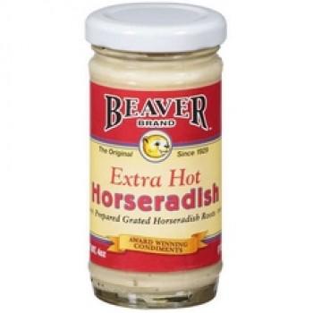 Beaver Extra Hot Horseradish Sauce (12x8.5Oz)