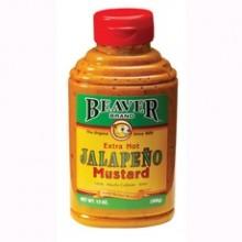 Beaver Jalapeno Mustard (6x13Oz)