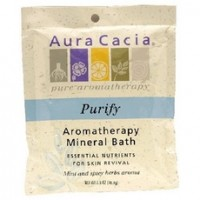 Aura Cacia Purify Mineral Bath (6x2.5Oz)