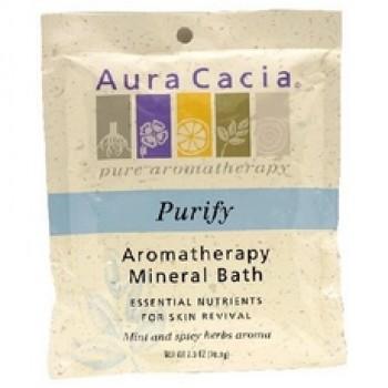 Aura Cacia Purify Mineral Bath (6x2.5Oz)