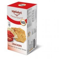 Wellaby's Parmesan & Sun-Dried Tomato Crackers (6x3.9 Oz)