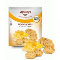 Wellaby's Original Cheese Mini Crackers (6x5 Oz)