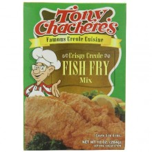 Tony Chachere's Crispy Creole Fish Fry Mix (12x10 Oz)