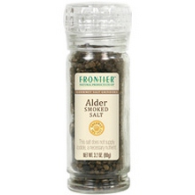 Frontier Natural Products Alder Smoke Salt,Grinder (6x3.2 Oz)