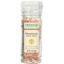Frontier Natural Products Himilayan Pink Salt, Grinder (6x3.4 Oz)
