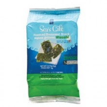 Sea's Gift Seaweed, Roasted Wasabi (24x.17 Oz)