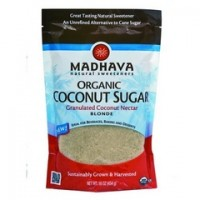 Madhava Blonde Coconut Sugar (6x16 Oz)