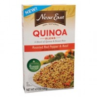 Near East Roasted Red Pepper & Basil Quinoa Blend (12x4.9 Oz)