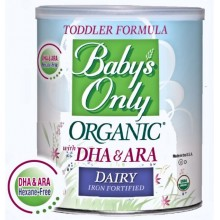 Baby's Only Organic Baby Dairy With Dha & Ara Iron Formula (6x12.7Oz)