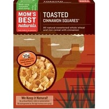 Mom's Best Toasted Cinnamon Squares Cereal (14x17.5Oz)