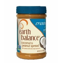 Earth Balance Crunchy Coconut Peanut Butter (12x16 Oz)