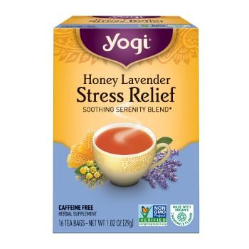 Yogi Teas Honey Lavender Stress Relief Tea (6x16 Bag)