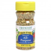 Frontier Natural All Purpose Salt Free Seasoning Blend (6x2.5 Oz)