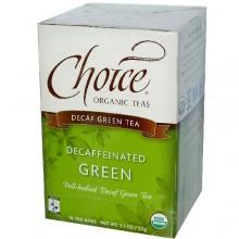 Choice Organic Teas Decafinated Green (6x16 Bag)