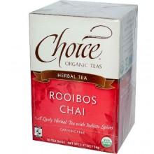 Choice Organic Teas Rooibos Chai (6x16 Bag)