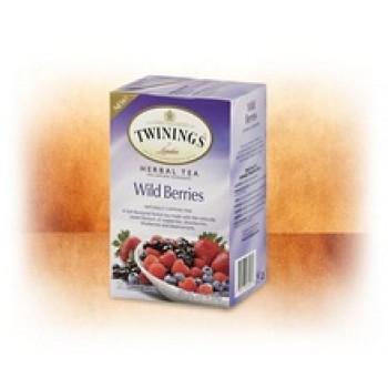Twinings Herbal Wild Berries Tea (6x20 Bag)