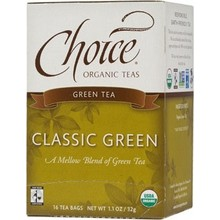 Choice Organic Teas Classic Blend Green (6x16 Bag)