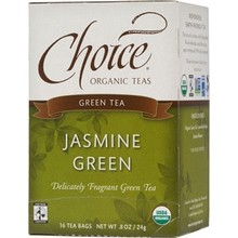 Choice Organic Teas Jasmine Green (6x16 Bag)