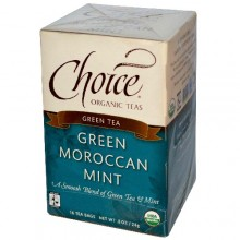 Choice Organic Teas Green Moroccan Mint (6x16 Bag)