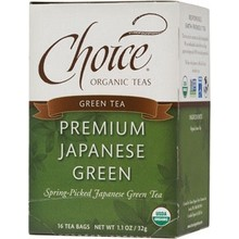 Choice Organic Teas Premium Japanese Green (6x16 Bag)